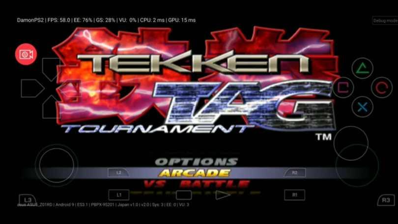 Tekken Tag Tournament ISO Download PS2