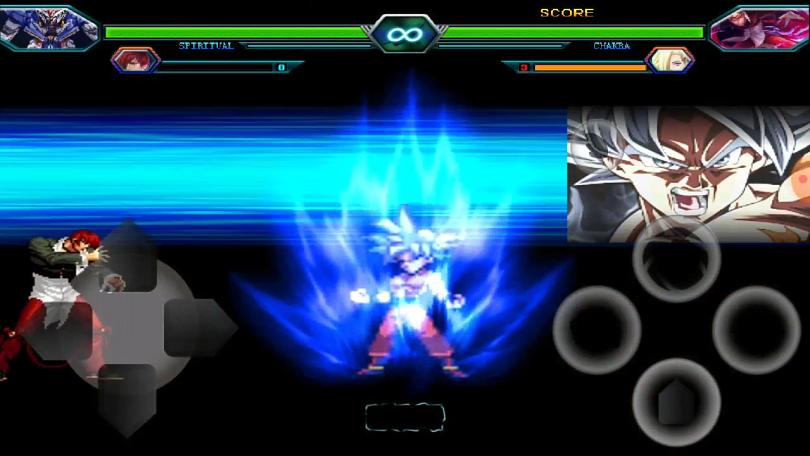 DBZ Mugen Goku Mastered Ultra Instinct Gameplay