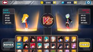 Stickman Warriors – Super Dragon Shadow Fight v1.0.7 Mod Apk Unlock all Characters