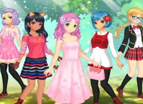 Anime Game Dress Up
