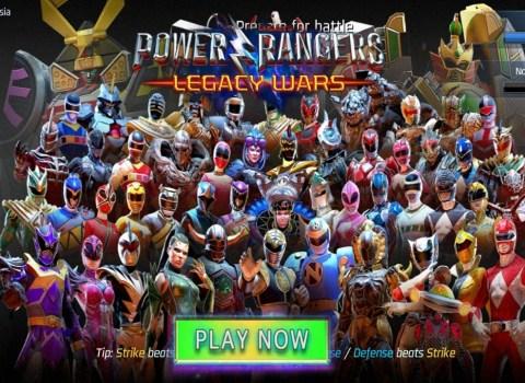 Power Rangers Legacy Wars Download