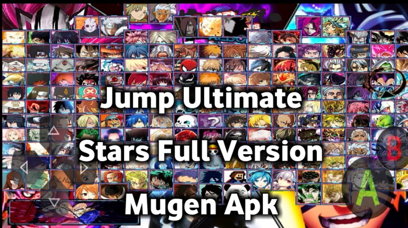 Jump Ultimate Stars Full Version Mugen Apk For Android