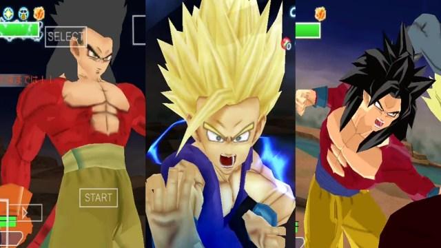 DBZ Father Son Kamehameha Gohan And Goku