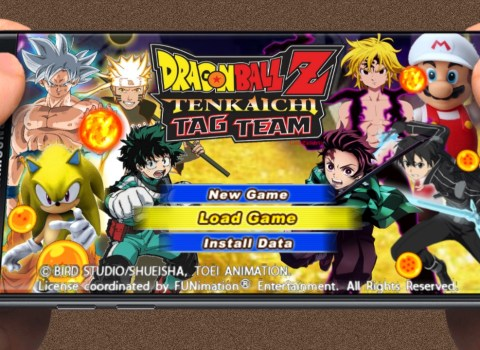 Anime Crossover DBZ TTT MOD Download