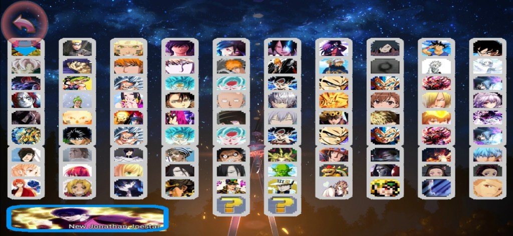 Jump Force Anime Crossover Mugen Apk For Android