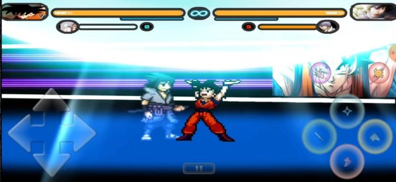 DBZ Vs Naruto Mugen Apk For Android