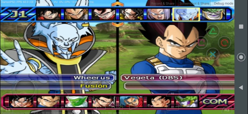 DBZ Budokai Tenkaichi 3 MOD PS2 ISO Download