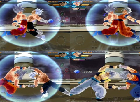 All Fusions DBZ BT3 MOD PS2