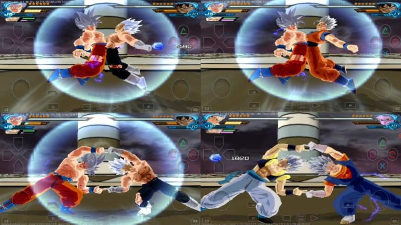 All Fusions in DBZ Budokai Tenkaichi 3 MOD PS2 ISO