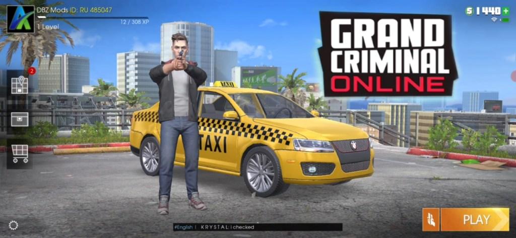 Grand Criminal Online Multiplayer Open World Action Game
