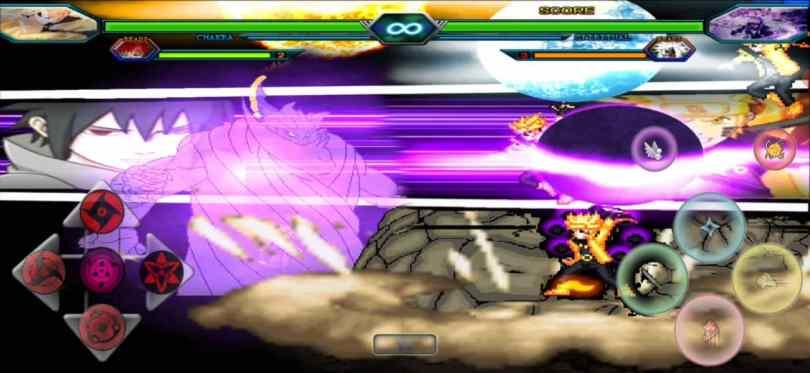 Naruto Vs Sasuke Mugen for Android