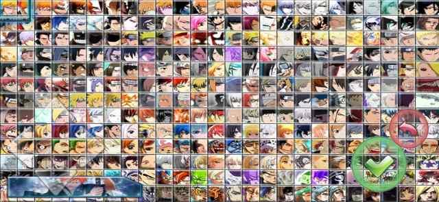 Bleach Vs Naruto Mugen 325 Characters apk download
