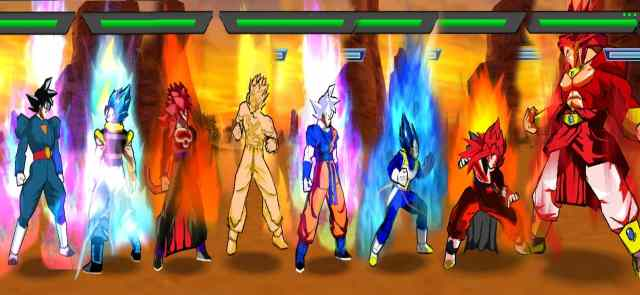 Super Dragon Ball Heroes Big Bang Mission Shin Budokai 2 Mod PSP ISO Download