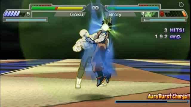 Dragon ball z shin Budokai 6 PPSSPP ISO Download Goku vs Jiren
