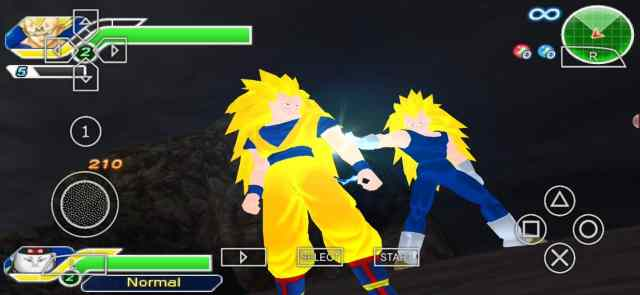 Dragon Ball Z Raging Blast PPSSPP Download