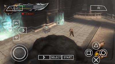 God of War 2 PSP highly compressed