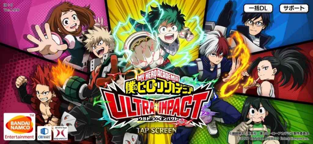 My hero academia ultra impact apk download