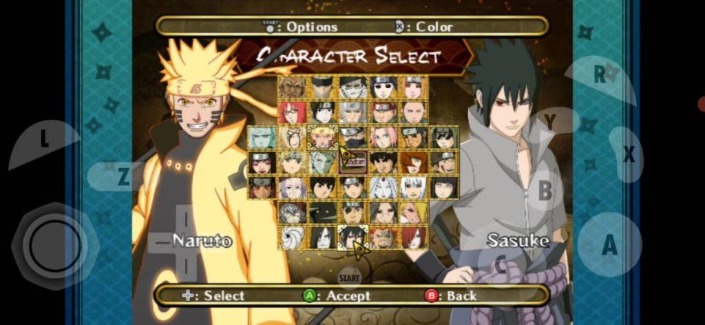 Naruto Shippuden Clash of Ninja Revolution 3 Wii ISO Storm 4 Mod
