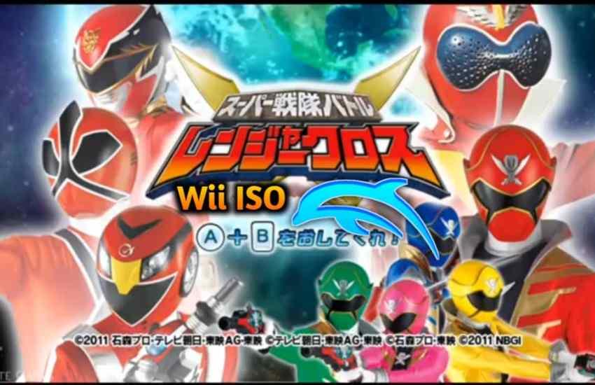 Super Sentai Battle Ranger Cross Wii
