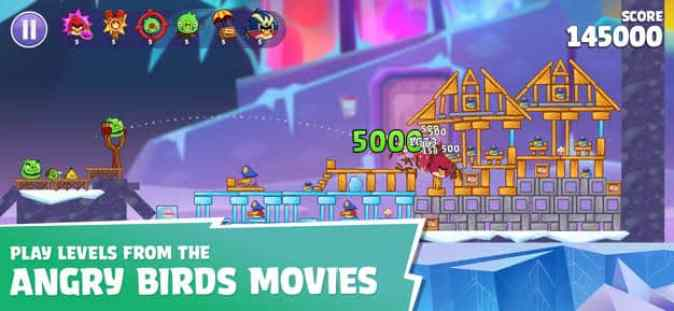 Play Angry Birds new movies levels