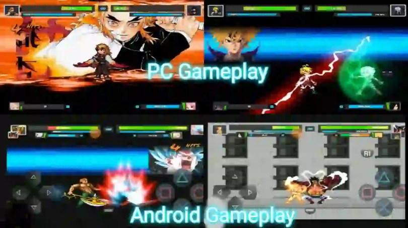 Jump Force Mugen Gameplay