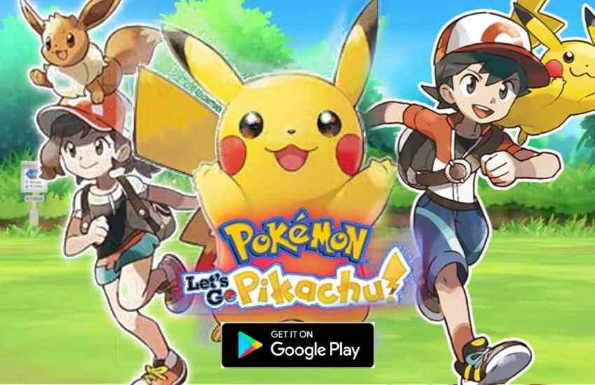 Pokemon let's Go Pikachu Apk Download without verification