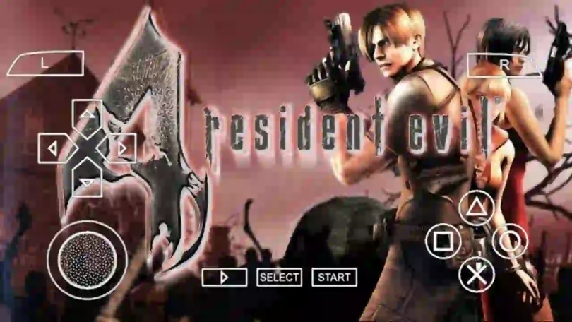 Resident Evil 4 PPSSPP ISO Download