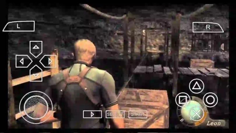 Resident Evil 4 PPSSPP gameplay