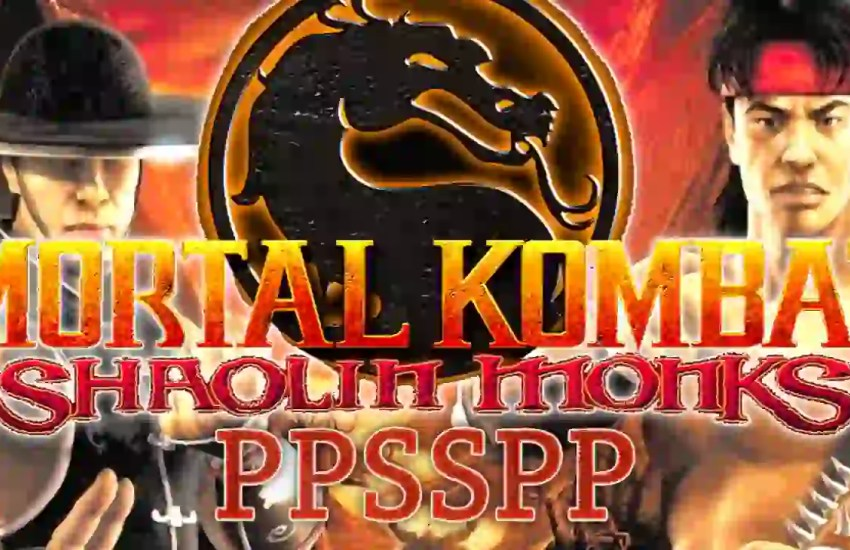 Mortal Kombat Shaolin Monks PPSSPP ISO ROM Zip File Download