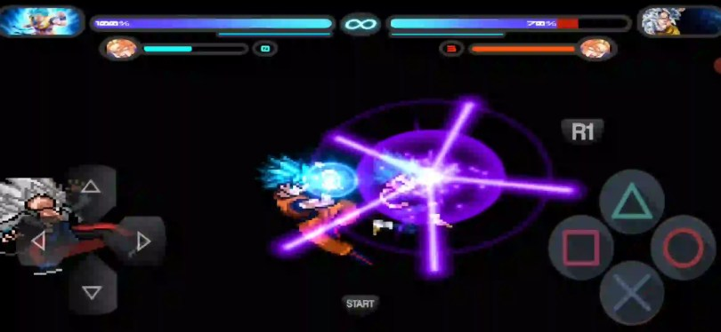Dragon Ball Super Goku and Vegeta Duo Attacks Mugen