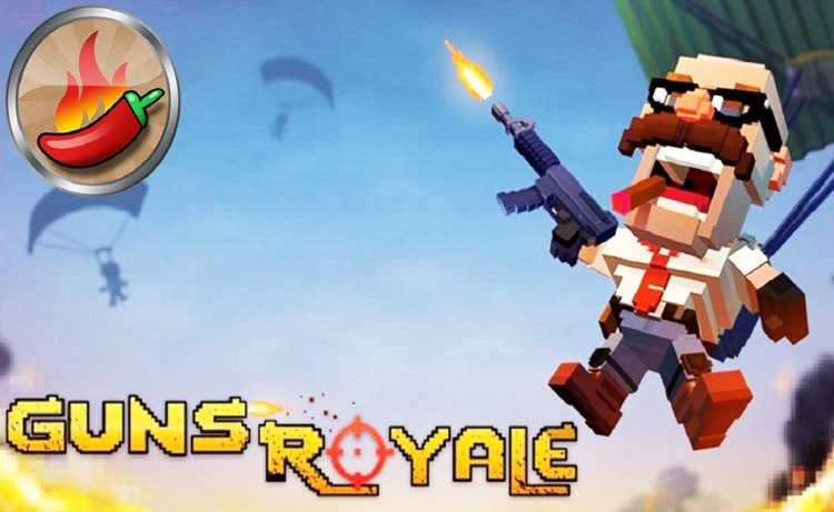 Screenshot of Guns Royale