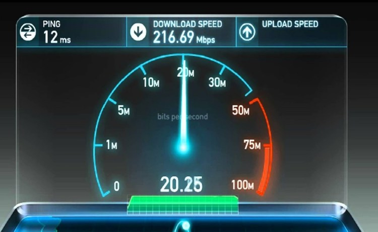 Screenshot of Internet Speed Test Meter