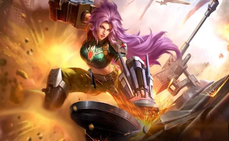 Screenshot of Masha Combat Maiden