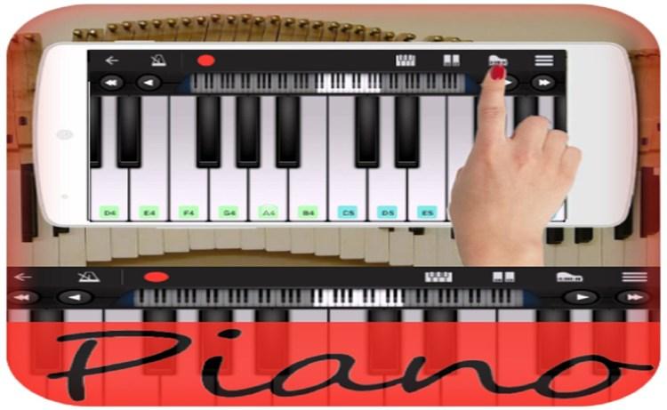 Screenshot of Piano Plus