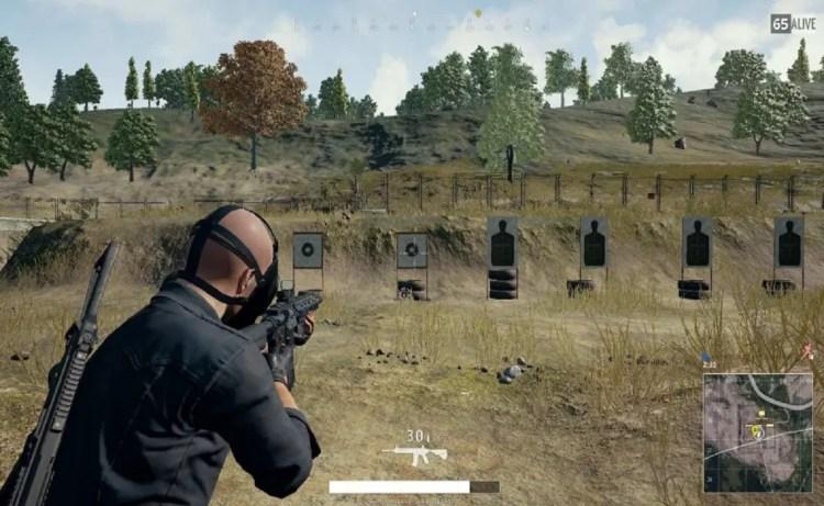 Screenshot of Shooting Range