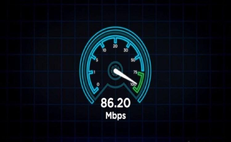 Screenshot of Speed Test