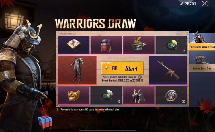 Screenshot of The Honorable Warrior