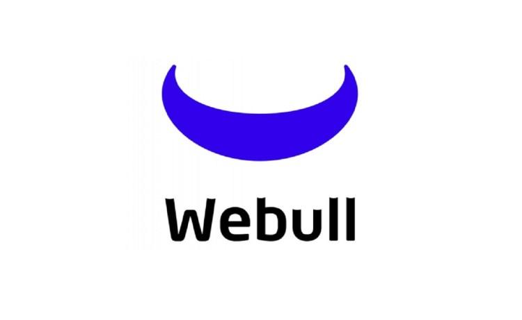 Screenshot of Webull