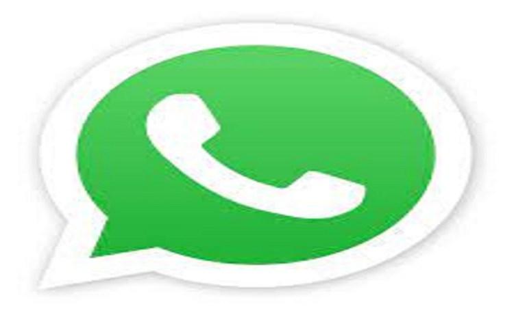 Screenshot of WhatsApp