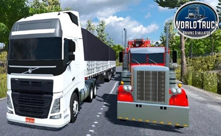 Screenshot of World Truck Driving