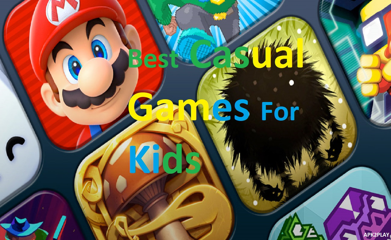 Best Casual Games for Kids
