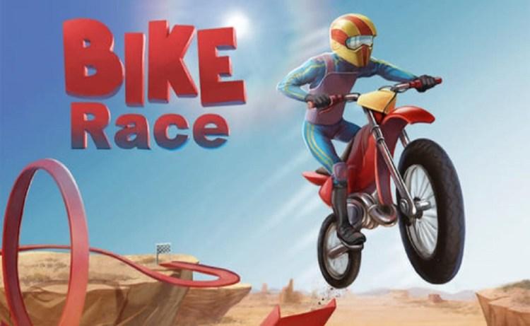 Screenshot of Bike Race Free