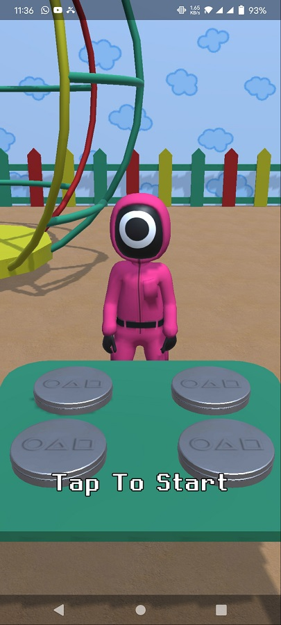 Screenshot of Squid Game Challenge For Android