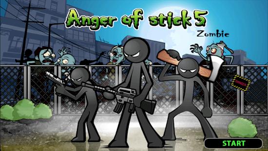 Anger of stick 5 : zombie mod apk