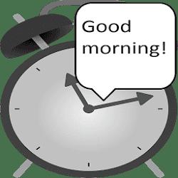 Speaking Alarm Clock Premium