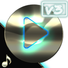 Poweramp skin platinum v3