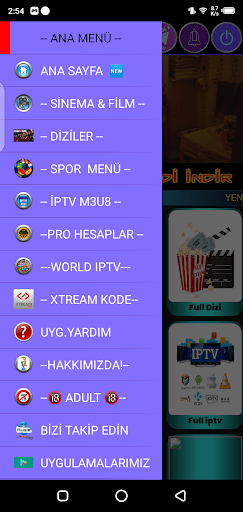 Screenshot of Illegal VIP TV Apk