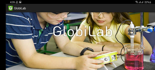 Screenshot of GlobiLab App
