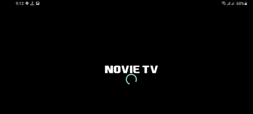 Screenshot of Novie TV App