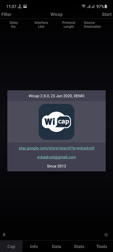 Screenshot of Wicap Pro Apk